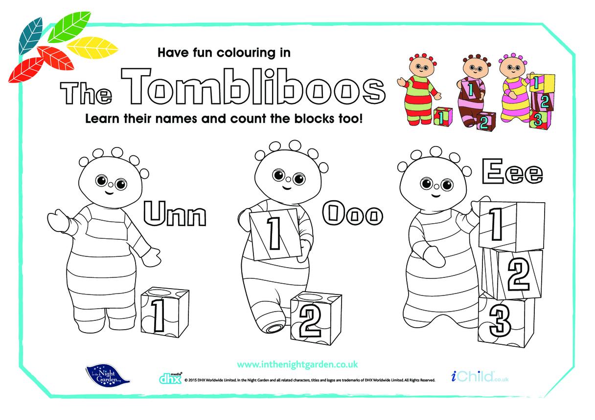 The Tombliboos Colour & Count