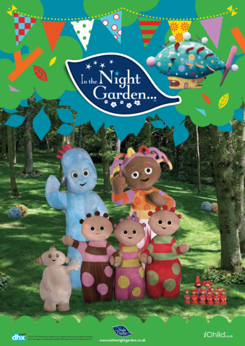 Thumbnail image for the In the Night Garden Poster activity.
