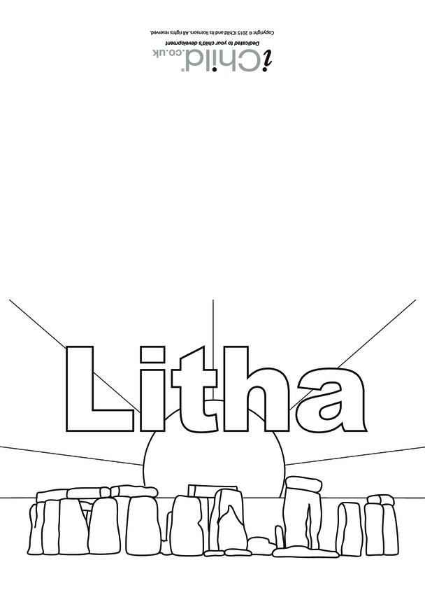 Litha Card