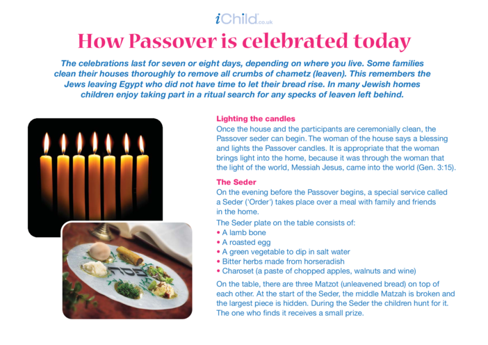 Thumbnail image for the Passover Customs & Traditions activity.