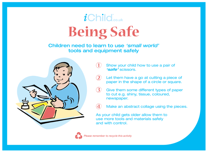 Thumbnail image for the Being Safe activity.