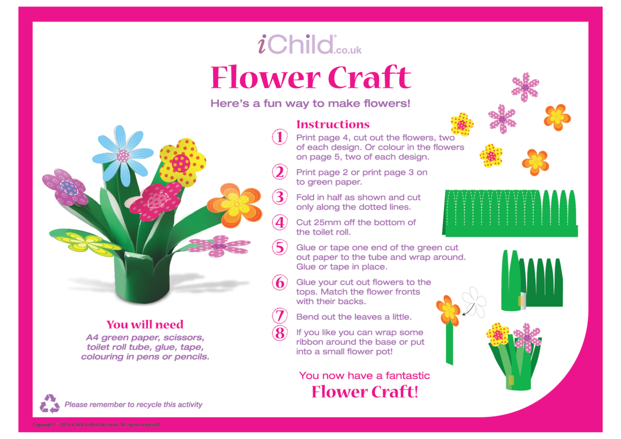 Mother's Day Flower Craft