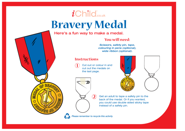 Thumbnail image for the Bravery Medal activity.
