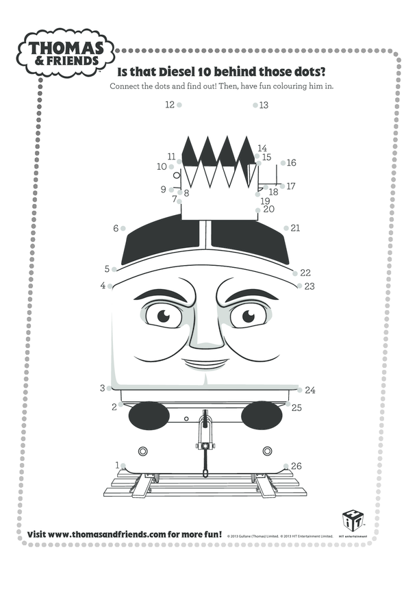 Diesel Connect the Dots (Thomas & Friends)