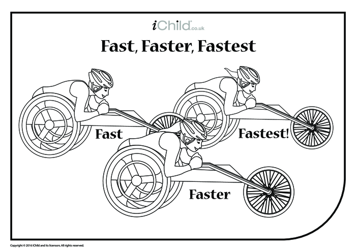 Thumbnail image for the Fast, Faster, Fastest Wheelchair Race activity.