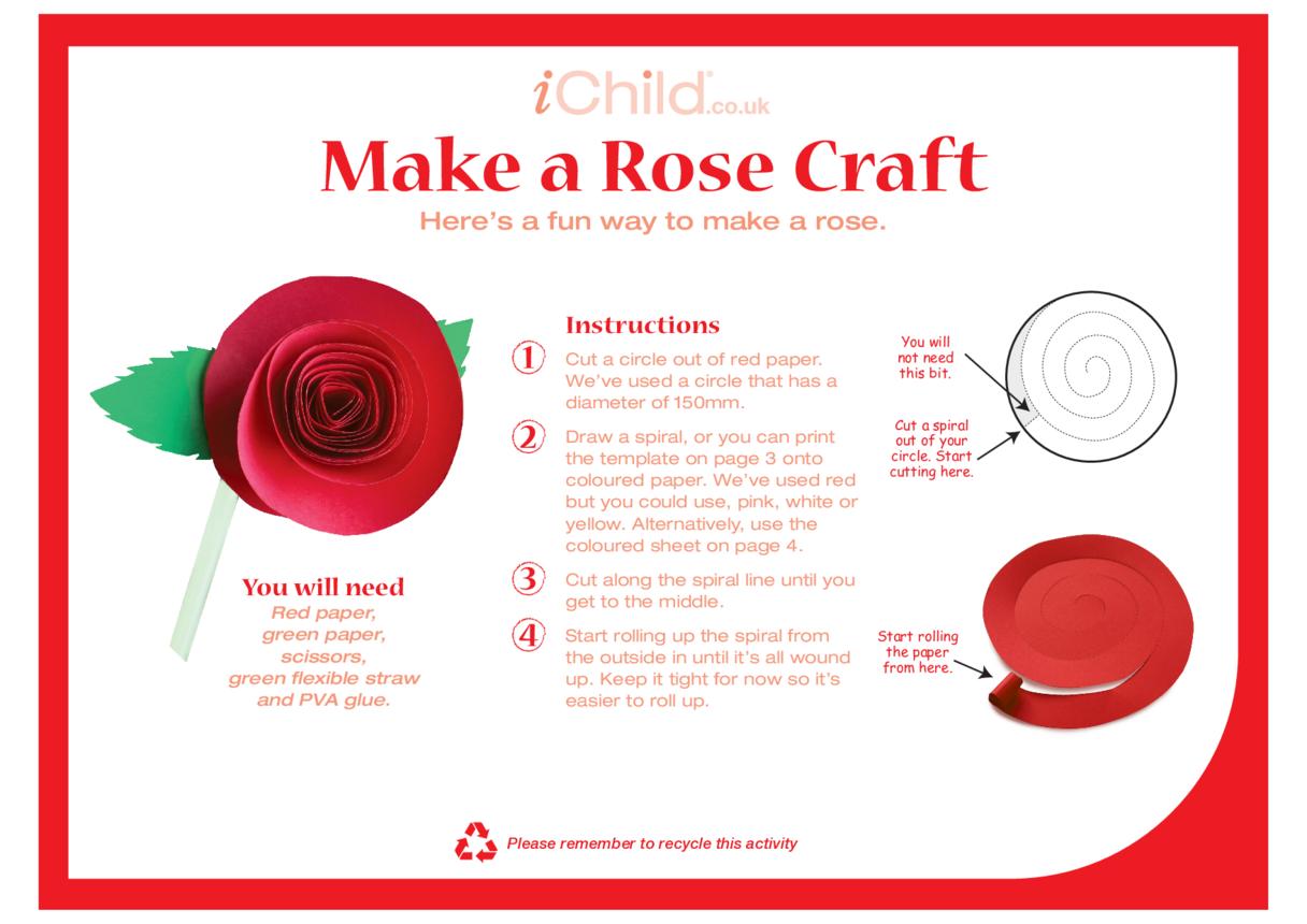 Make a Rose Craft