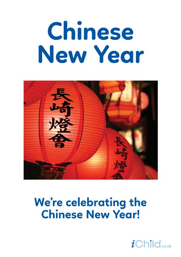 Chinese New Year - Photo Poster