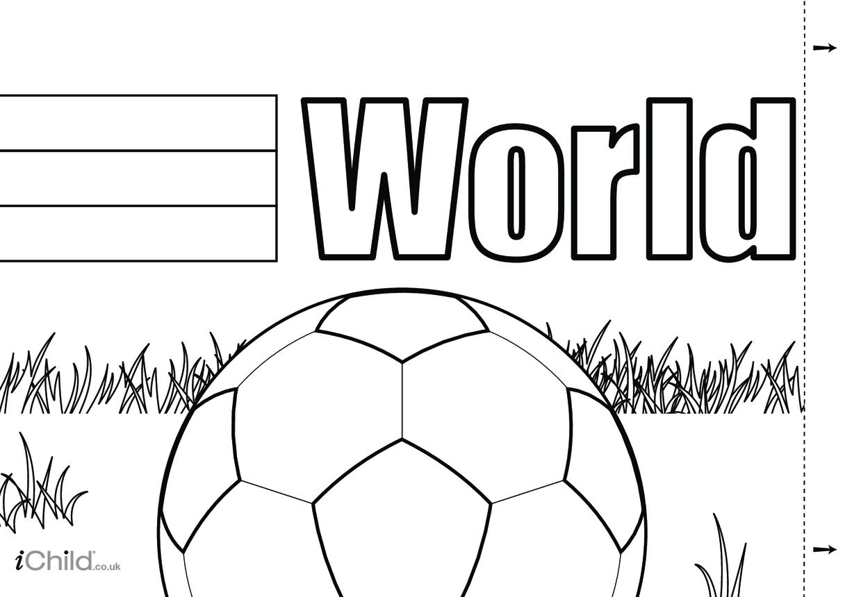 World Cup 2018 Wall Display