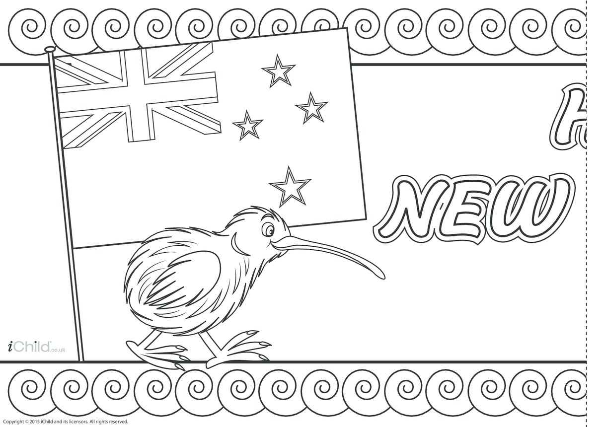 New Zealand Day Banner