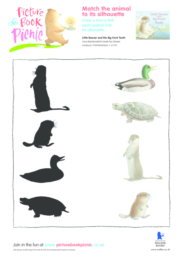 Little Beaver: Matching Silhouette