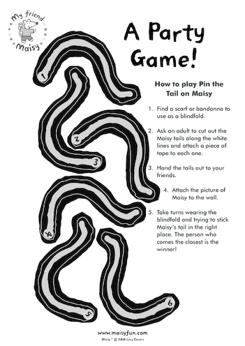 Thumbnail image for the Maisy Party Kit: Game activity.