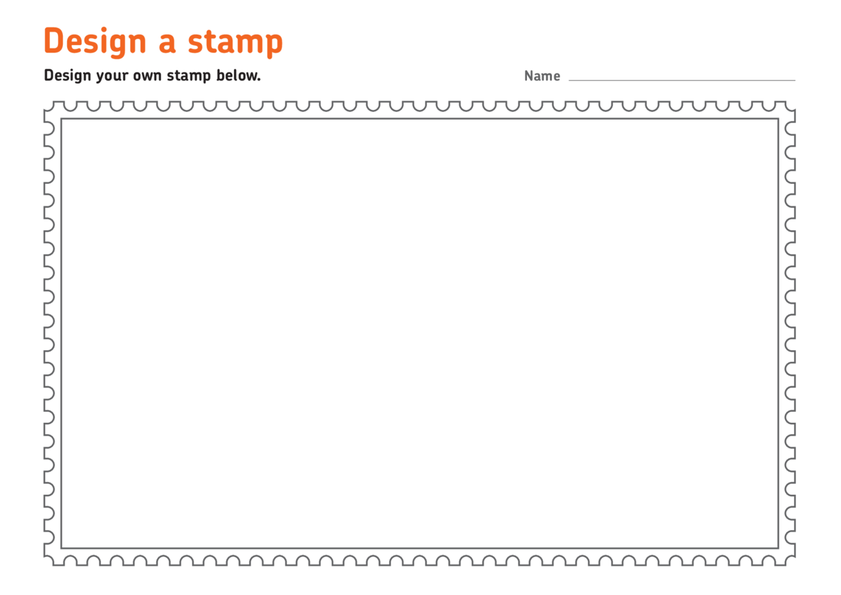 Bob the Builder: Stamp Template A4