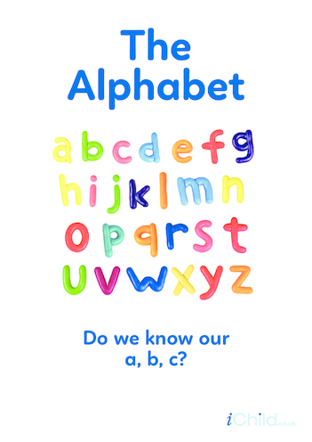 Thumbnail image for the Alphabet - Photo Poster activity.