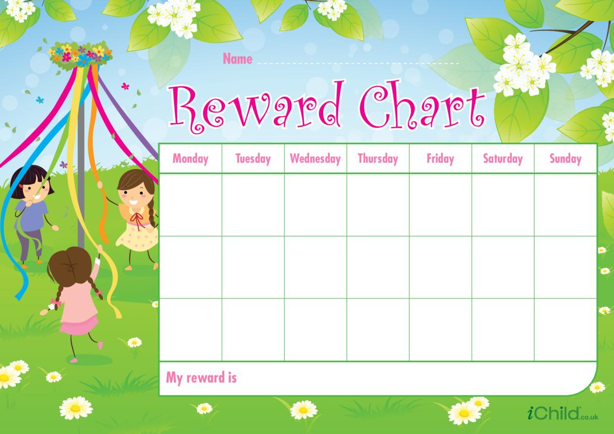 May Day Reward Chart