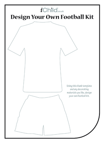 Thumbnail image for the Design your own Football Kit activity.