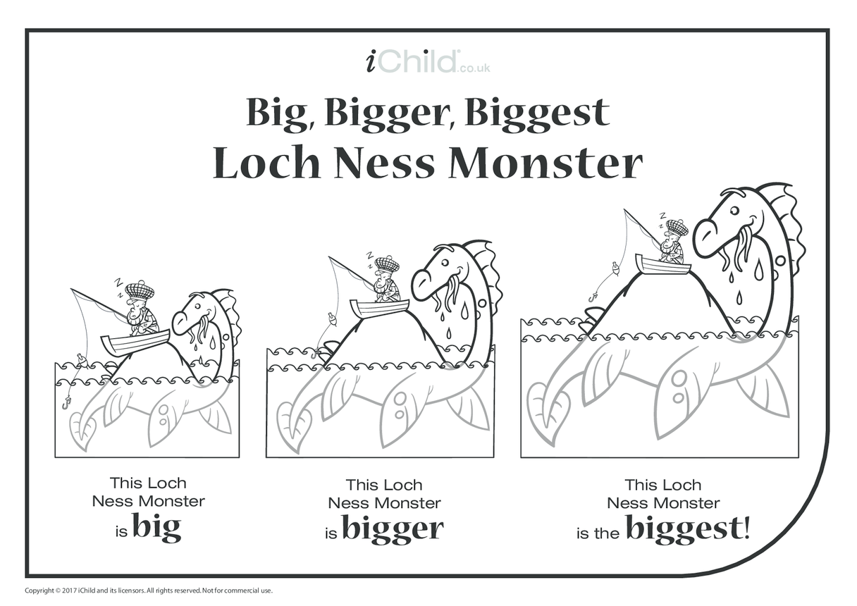Big, Bigger, Biggest Loch Ness Monster