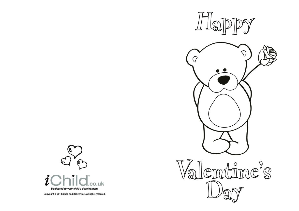 Teddy Valentine's Day Card