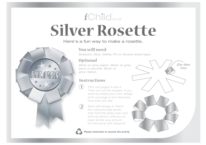 Thumbnail image for the Rosette- Silver activity.