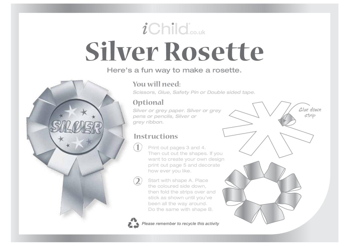 Rosette - Silver