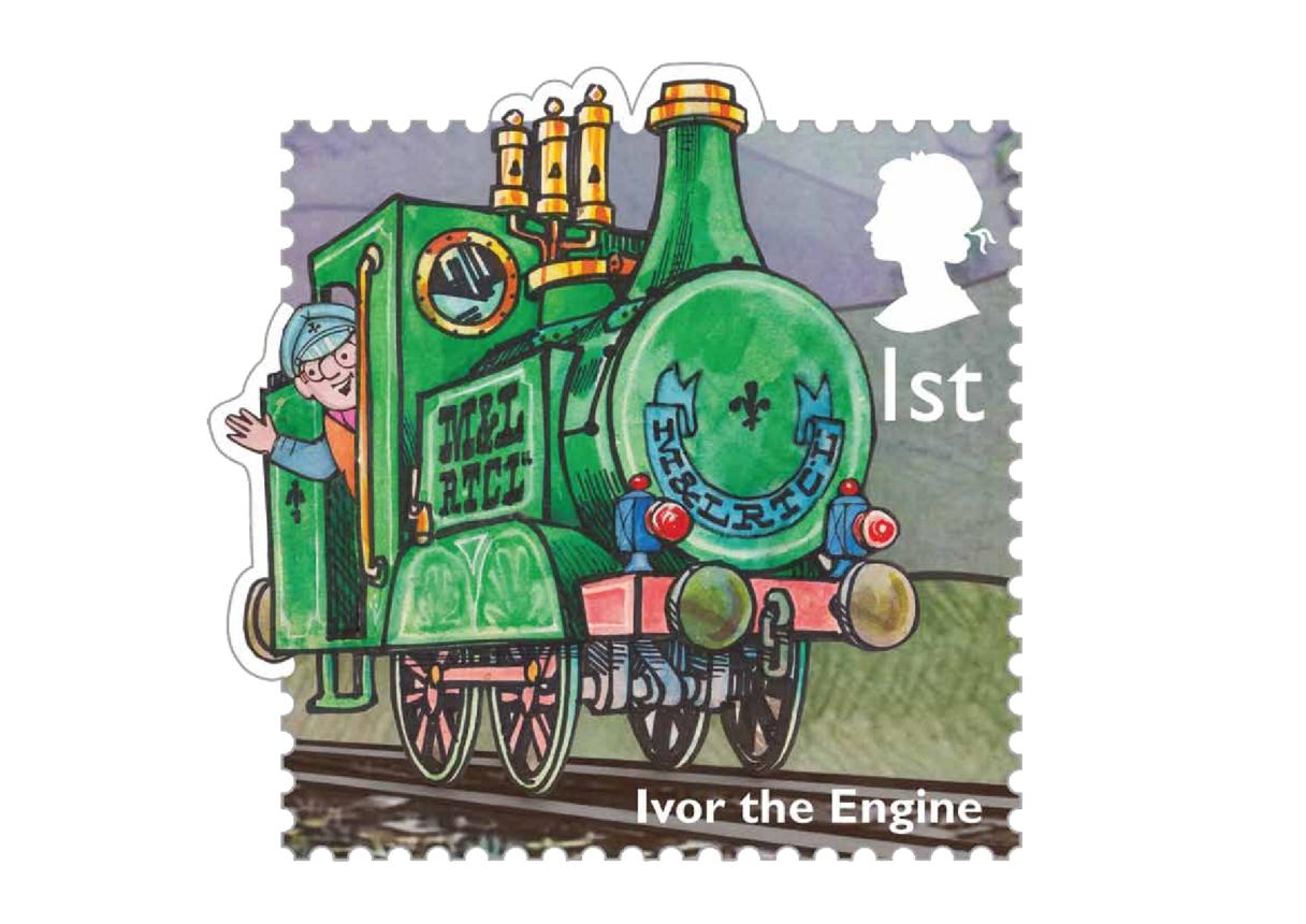Stamp Image - Ivor the Engine