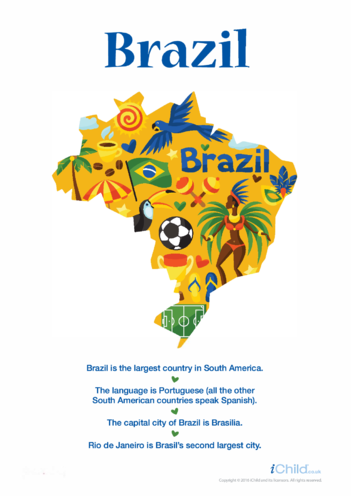 Thumbnail image for the Brazil Poster activity.