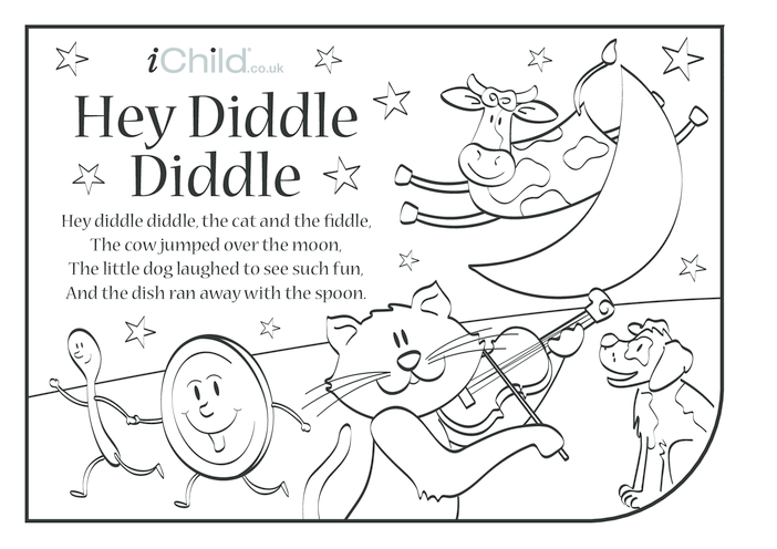 Thumbnail image for the Hey Diddle, Diddle Lyrics activity.