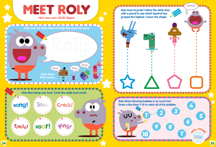 Thumbnail image for the Meet Roly activity.