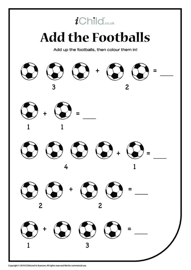 Add the Footballs