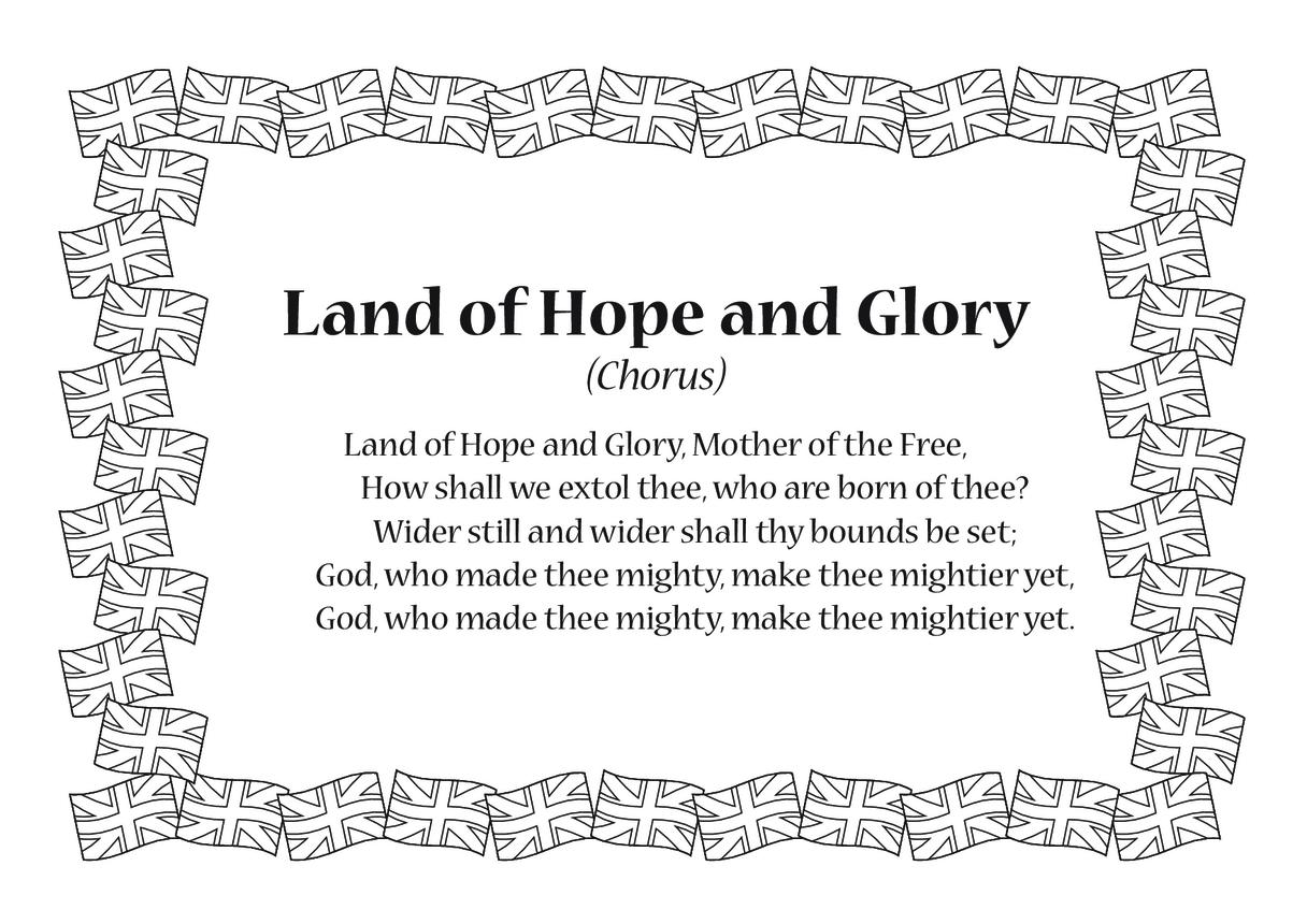 Land of Hope and Glory Song Lyrics