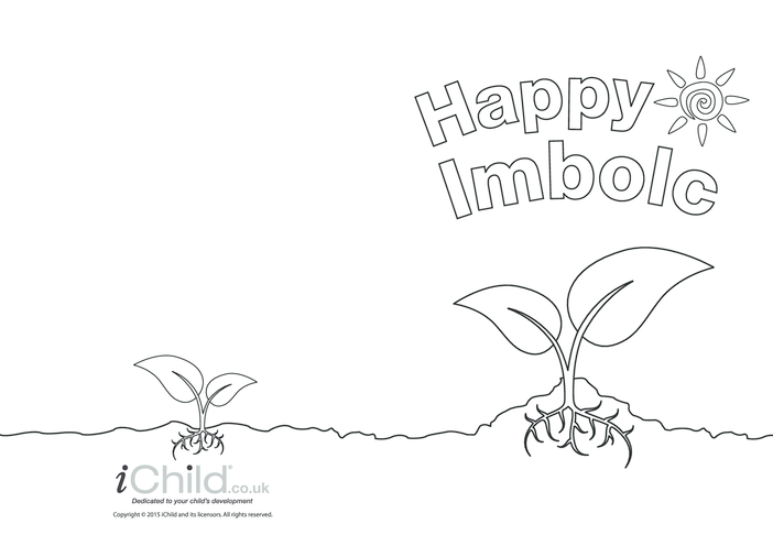 Thumbnail image for the Imbolc Greeting Card (with seed) activity.
