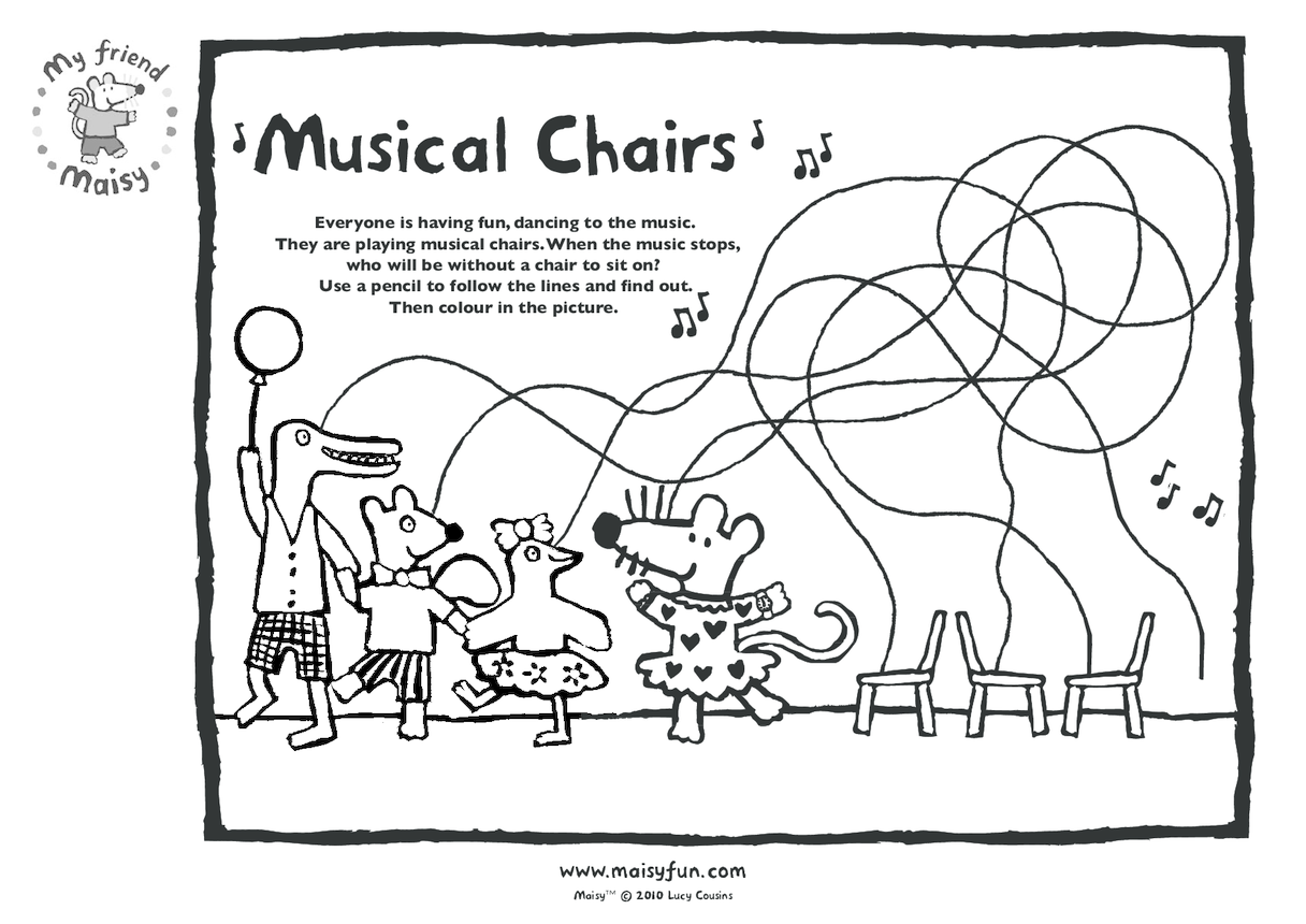 Maisy Party Kit: Musical Chairs
