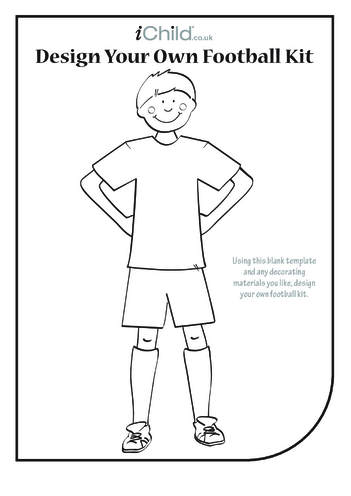 Thumbnail image for the Design a Football Kit- Boy activity.