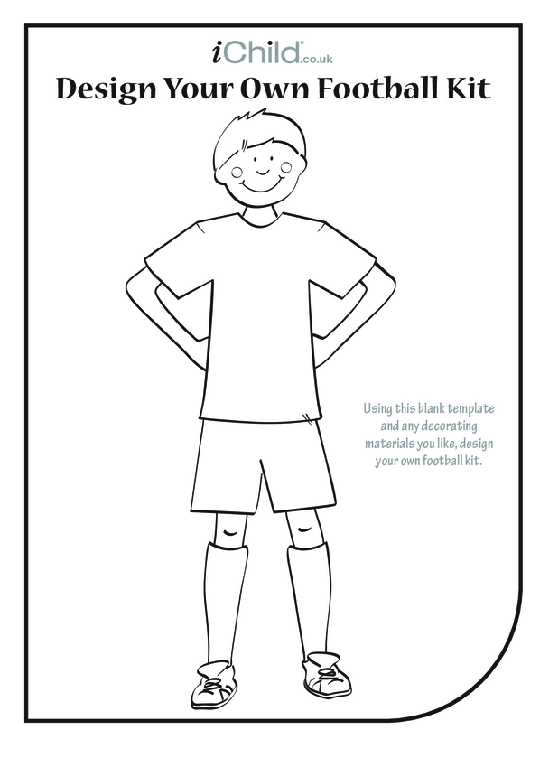 Design a Football Kit- Boy