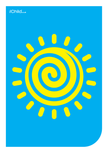 Thumbnail image for the Contrasting Colours Poster: The Sun activity.