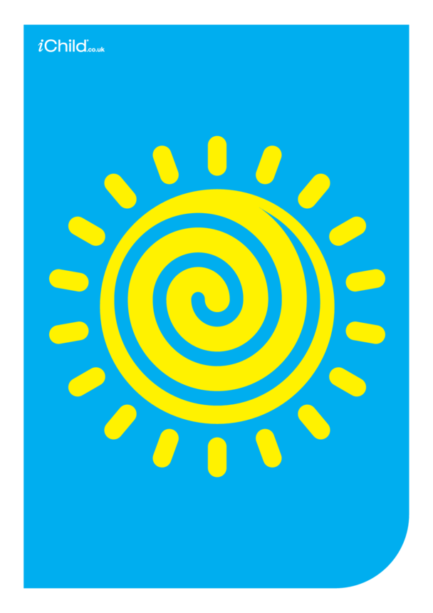 Contrasting Colours Poster: The Sun