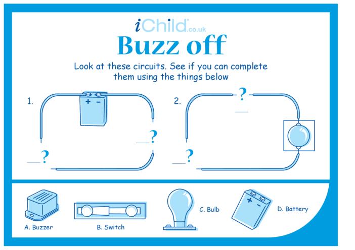 Thumbnail image for the Buzz Off activity.