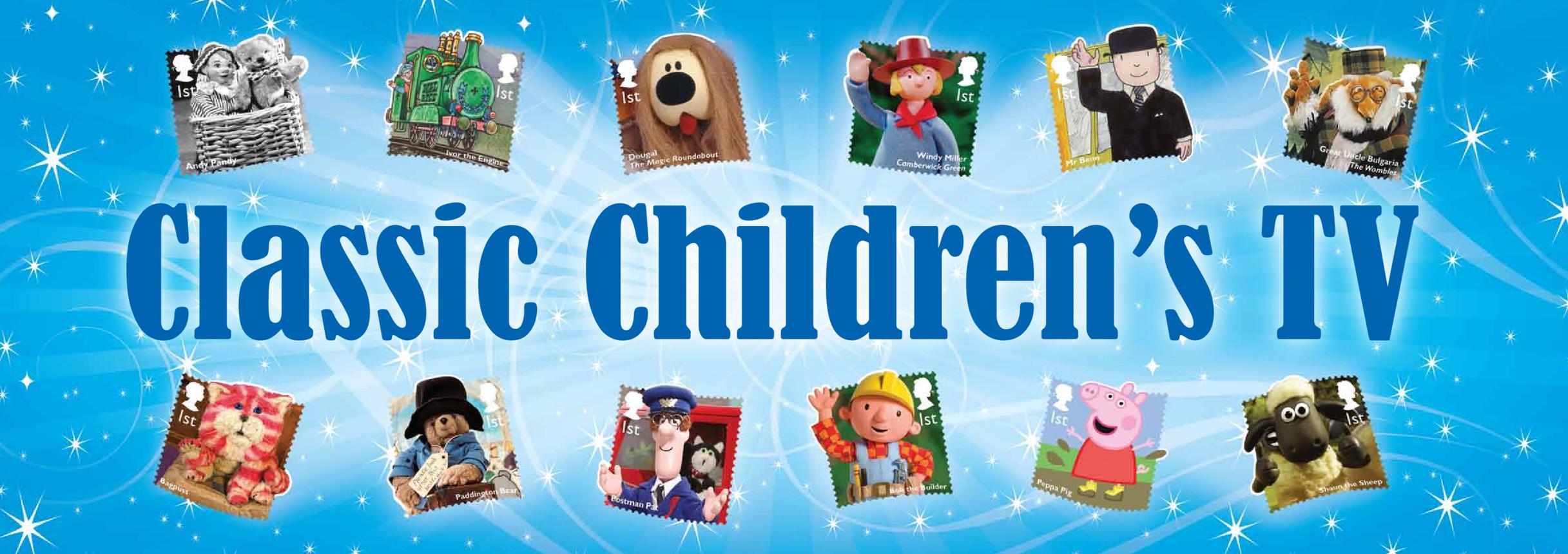 Wall Display Long Version - Classic Children's TV
