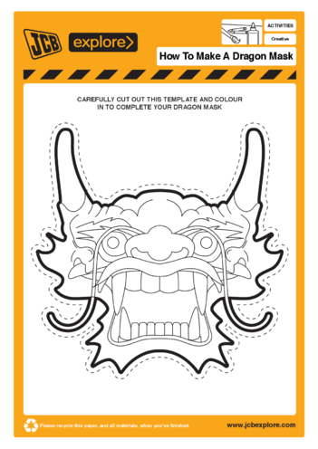 Thumbnail image for the Dragon Mask activity.