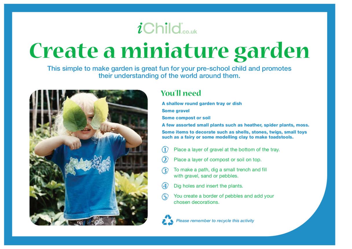 Create a Miniature Garden