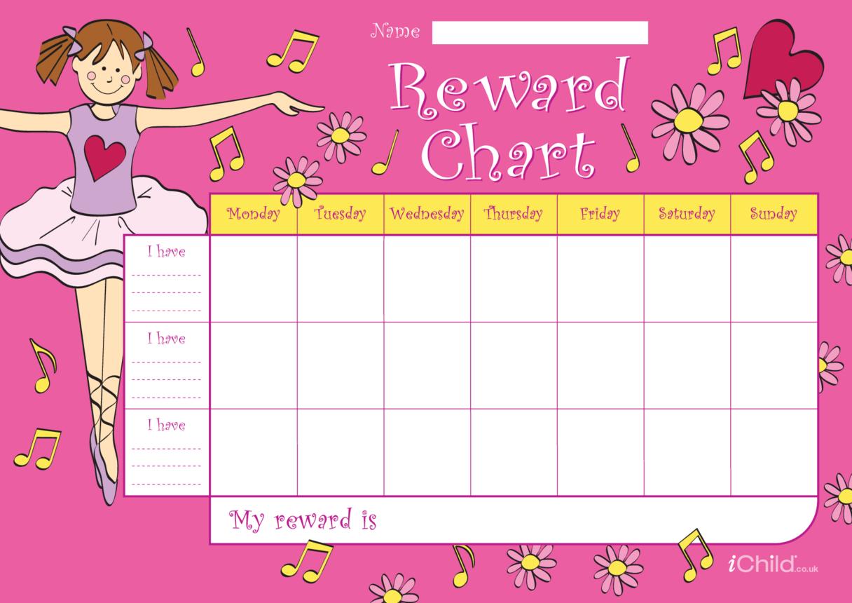 Ballet Reward Chart