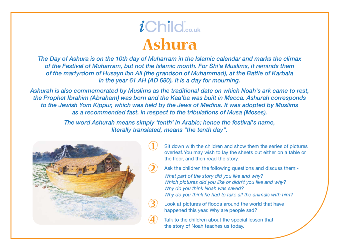 Ashura Religious Festival Story