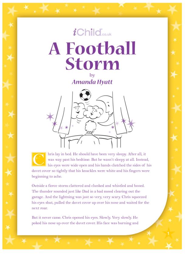 A Football Storm
