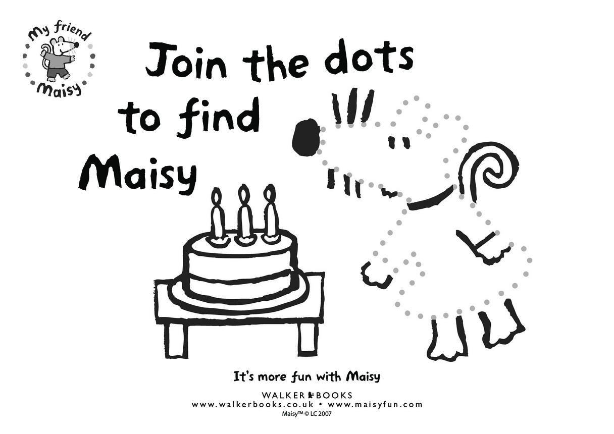 Maisy Dot to Dot