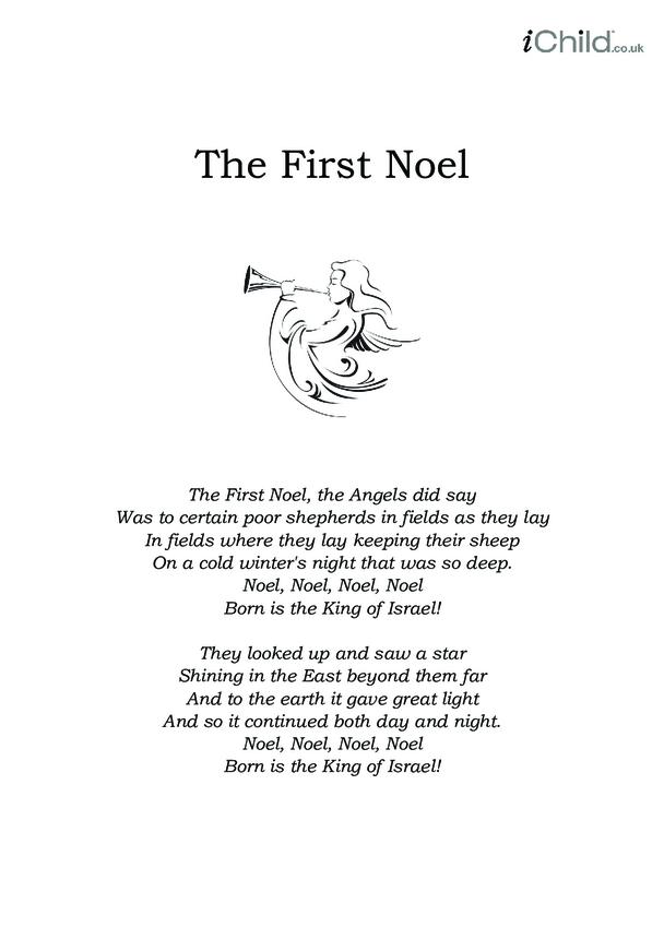 Christmas Carol Lyrics: The First Noel