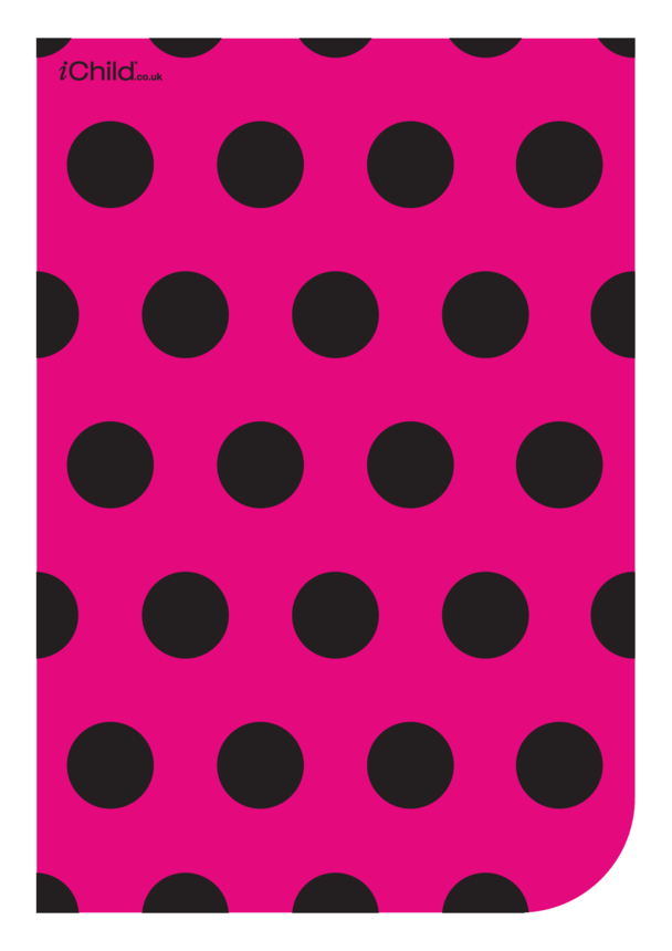 Contrasting Colours Poster: Circle Pattern