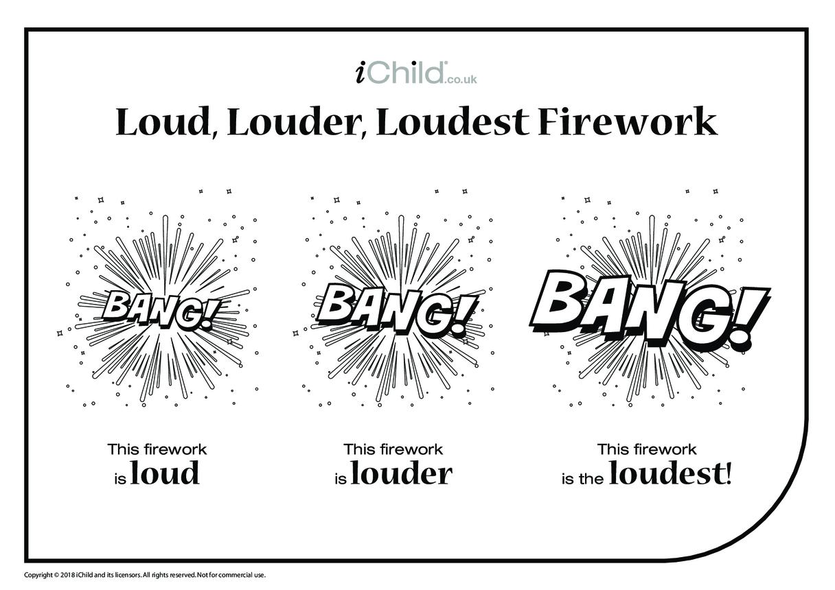 Loud, Louder, Loudest Firework