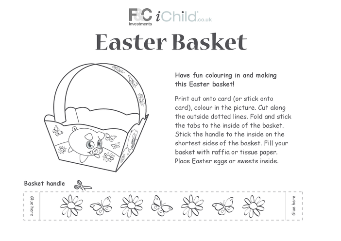 Thumbnail image for the Basket- Easter Pig activity.