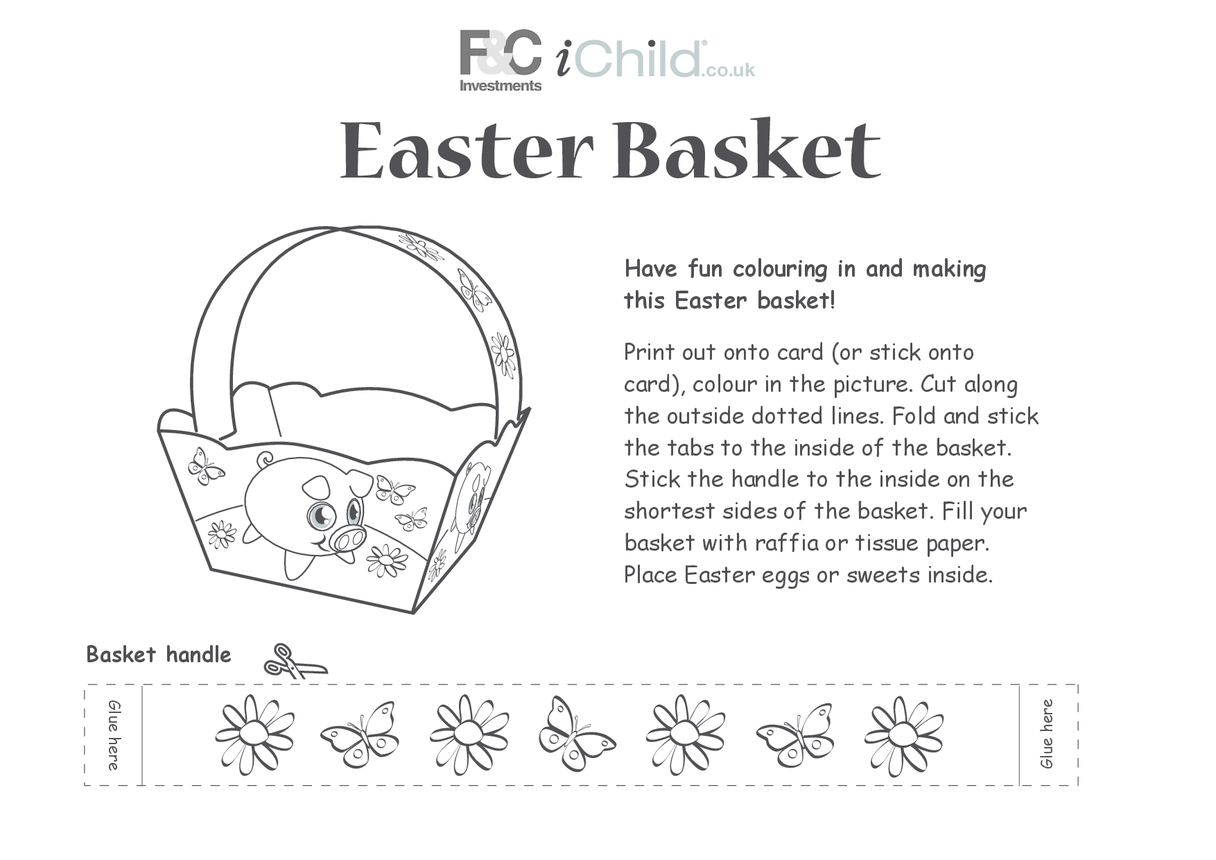 Basket- Easter Pig