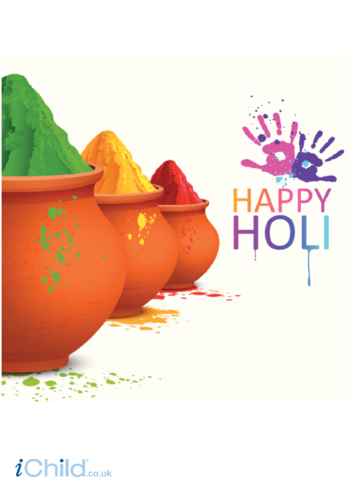 Thumbnail image for the Happy Holi Poster activity.
