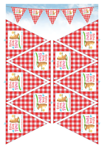 Thumbnail image for the Picture Book Picnic Party Bunting activity.
